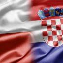 flagi polska chorwacja